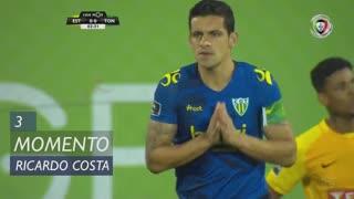 CD Tondela, Jogada, Ricardo Costa aos 3'