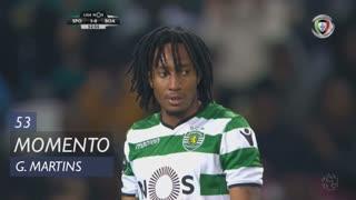 Sporting CP, Jogada, Gelson Martins aos 53'