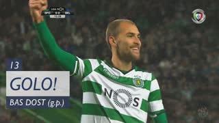GOLO! Sporting CP, Bas Dost aos 13', Sporting CP 1-0 Os Belenenses
