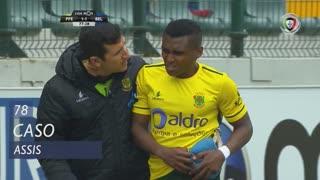 FC P.Ferreira, Caso, Assis aos 78'