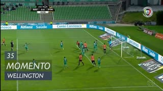 Portimonense, Jogada, Wellington aos 35'