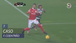 Sporting CP, Caso, Fábio Coentrão aos 7'
