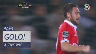 GOLO! SL Benfica, A. Zivkovic aos 90'+5', Portimonense 1-3 SL Benfica