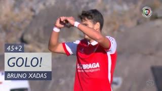 GOLO! SC Braga, Bruno Xadas aos 45'+2', SC Braga 1-1 Portimonense