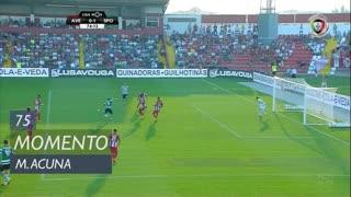 Sporting CP, Jogada, M. Acuña aos 75'