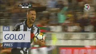 GOLO! Portimonense, Pires aos 86', Portimonense 1-1 Marítimo M.