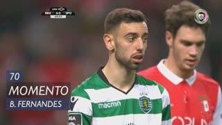 Sporting CP, Jogada, Bruno Fernandes aos 70'