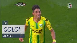 GOLO! CD Tondela, Murilo aos 18', CD Tondela 1-0 SC Braga