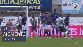 Vitória FC, Jogada, Edinho aos 43'
