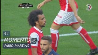 SC Braga, Jogada, Fábio Martins aos 44'