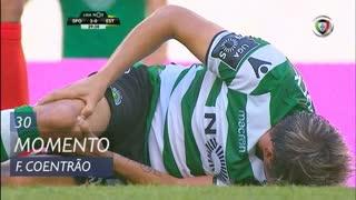 Sporting CP, Jogada, Fábio Coentrão aos 30'