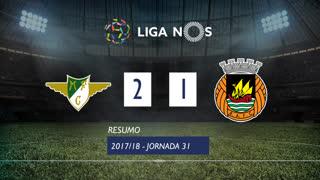 Liga NOS (31ªJ): Resumo Moreirense FC 2-1 Rio Ave FC