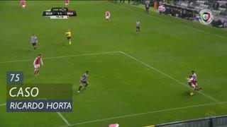 SC Braga, Caso, Ricardo Horta aos 75'