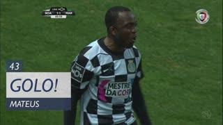 GOLO! Boavista FC, Mateus aos 43', Boavista FC 1-1 Marítimo M.