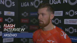 Liga (24ª): Flash interview Arsénio