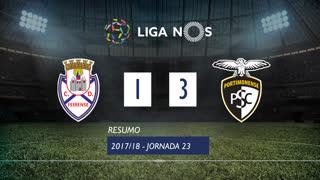 Liga NOS (23ªJ): Resumo CD Feirense 1-3 Portimonense