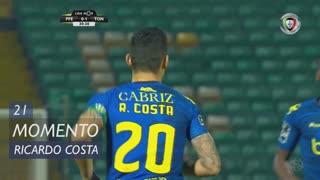 CD Tondela, Jogada, Ricardo Costa aos 21'