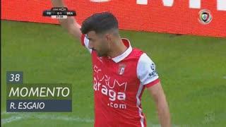 SC Braga, Jogada, Ricardo Esgaio aos 38'