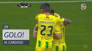 GOLO! CD Tondela, Miguel Cardoso aos 39', SL Benfica 1-2 CD Tondela