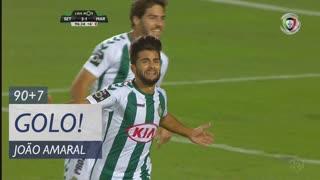 GOLO! Vitória FC, João Amaral aos 90'+7', Vitória FC 3-1 Marítimo M.
