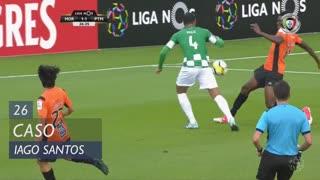 Moreirense FC, Caso, Iago Santos aos 26'