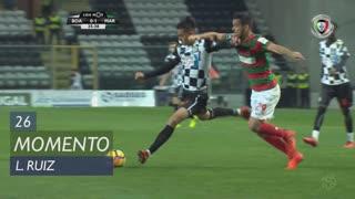 Boavista FC, Jogada, L. Ruiz aos 26'