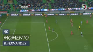 Sporting CP, Jogada, Bruno Fernandes aos 80'