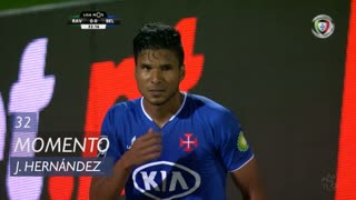 Os Belenenses, Jogada, J. Hernández aos 32'