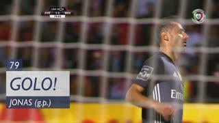 GOLO! SL Benfica, Jonas aos 79', CD Aves 1-3 SL Benfica