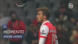 SC Braga, Jogada, André Horta aos 31'