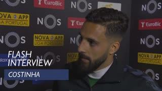 Liga (29ª): Flash interview Costinha