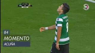 Sporting CP, Jogada, M. Acuña aos 84'