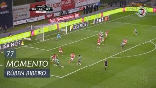 Sporting CP, Jogada, Rúben Ribeiro aos 77'