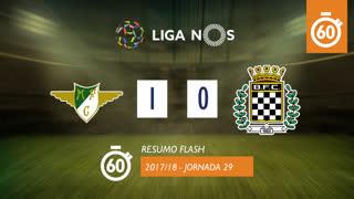 Liga NOS (29ªJ): Resumo Flash Moreirense FC 1-0 Boavista FC