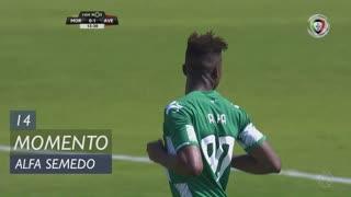 Moreirense FC, Jogada, Alfa Semedo Esteves aos 14'