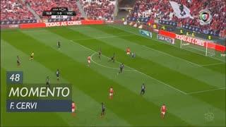 SL Benfica, Jogada, F. Cervi aos 48'
