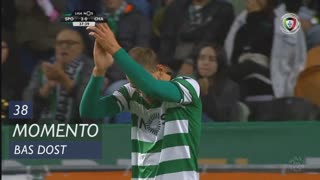 Sporting CP, Jogada, Bas Dost aos 38'