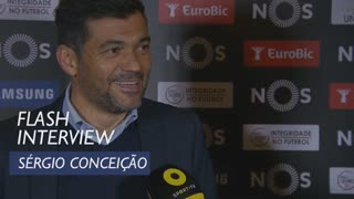 Liga (21ª): Flash interview Sérgio Conceição