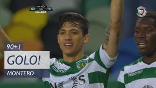 GOLO! Sporting CP, Montero aos 90'+1', Sporting CP 2-0 CD Feirense