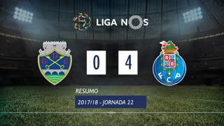 Liga NOS (22ªJ): Resumo GD Chaves 0-4 FC Porto