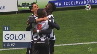GOLO! Boavista FC, L. Ruiz aos 31', Boavista FC 1-0 CD Tondela
