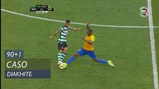 Estoril Praia, Caso, Oumar Diakhité aos 90'+1'