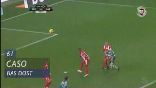 Sporting CP, Caso, Bas Dost aos 61'