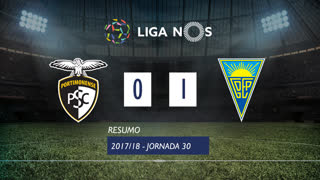 Liga NOS (30ªJ): Resumo Portimonense 0-1 Estoril Praia