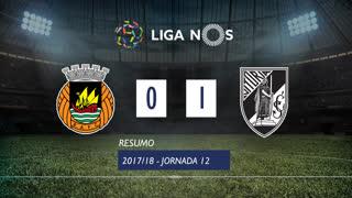 Liga NOS (12ªJ): Resumo Rio Ave FC 0-1 Vitória SC