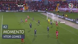 CD Aves, Jogada, Vitor Gomes aos 42'