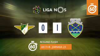 Liga NOS (23ªJ): Resumo Flash Moreirense FC 0-1 GD Chaves