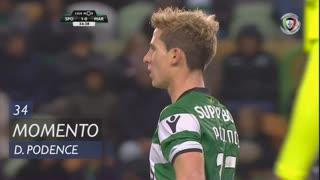 Sporting CP, Jogada, Daniel Podence aos 34'