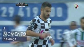 Boavista FC, Jogada, Carraça aos 8'