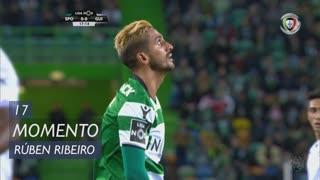 Sporting CP, Jogada, Rúben Ribeiro aos 17'